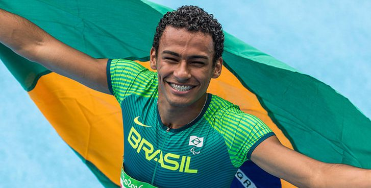 Daniel Martins garantiu o ouro nos 400m T20