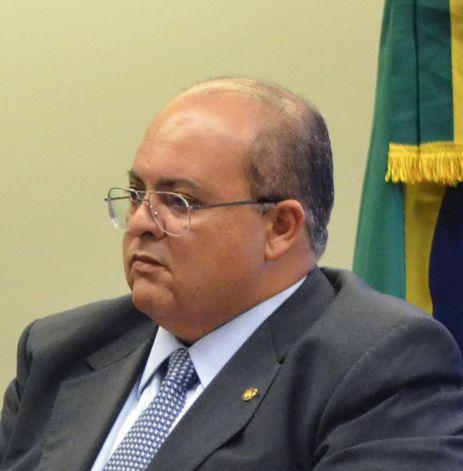 O candidato ao governo de Brasília pelo MDB, Ibaneis