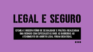 Campanha Legal e Seguro