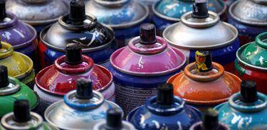 Spray para grafite