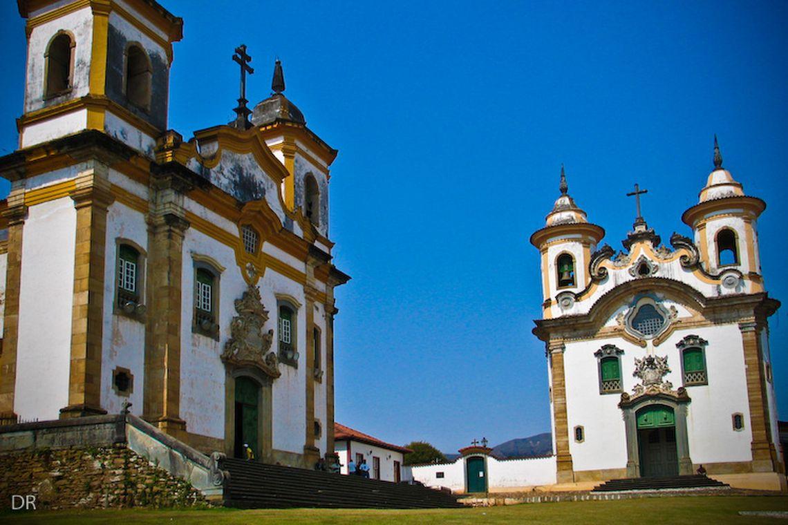 Igrejas São Francisco de Assis e Nossa Senhora do Carmo, Mariana