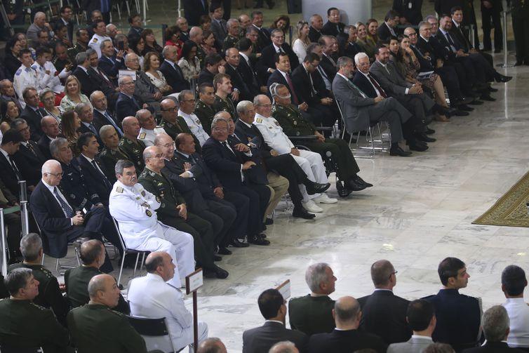 Solenidade Comemorativa dos 80 Anos de História do Gabinete de Segurança Institucional.