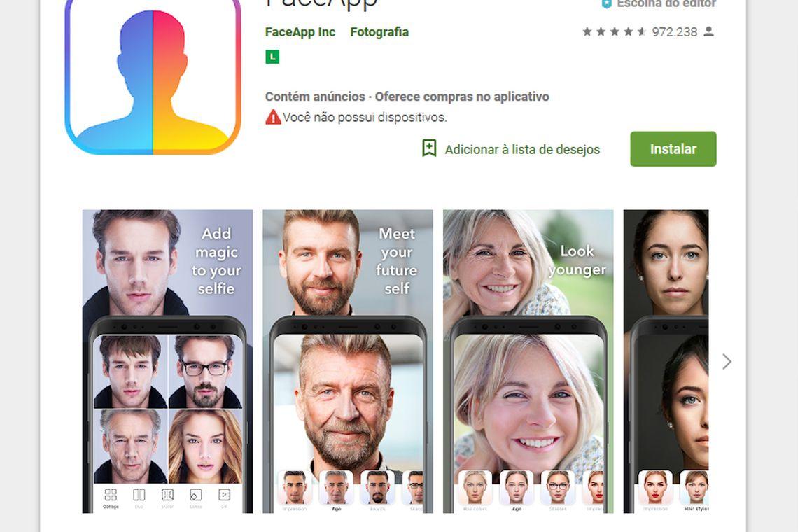 Reprodução FACE App/Direitos Reservados