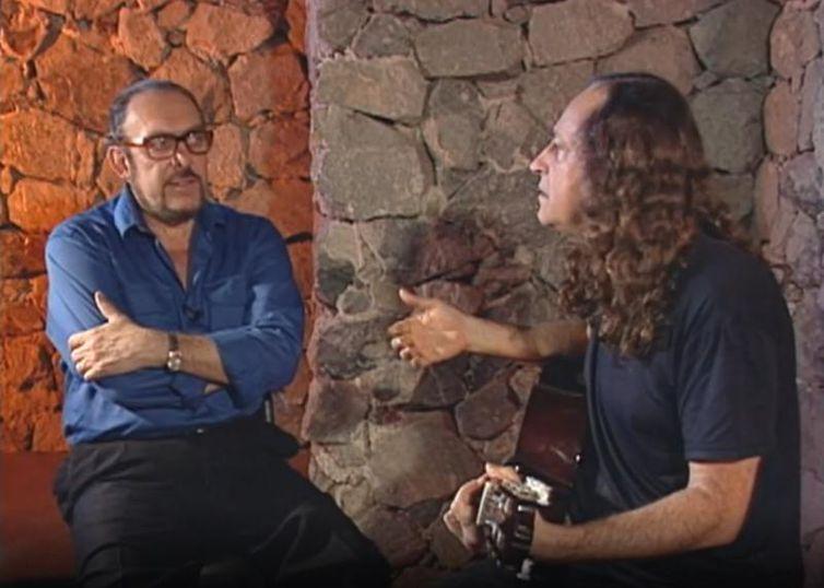 Miele entrevista Alceu Valença