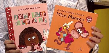 Duas obras infantis da escritora Ana Maria Machado
