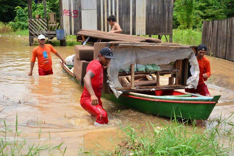 Enchente no Acre