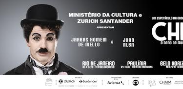 Chaplin - O musical faz curta temporada no Rio