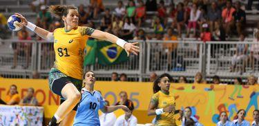O handebol feminino do Brasil é pentacampeão Pan-Americano