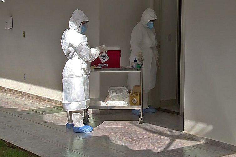 Base Aérea de Anápolis ,novo coronavírus,avaliações clínic
