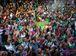 Rio de Janeiro - Mangueirenses comemoram, na quadra da escola, o título de campeã do carnaval 2016 do Grupo Especial do Rio (Tomaz Siva/Agência Brasil)