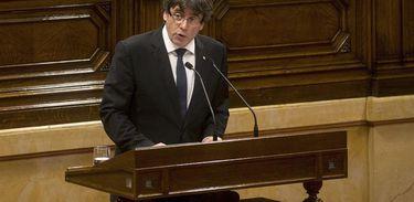 Puigdemont quer autorização para participar da sessão que elegerá o novo líder do parlamento catalão