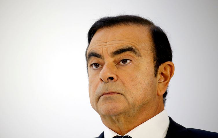 FILE PHOTO: Carlos Ghosn, chairman and CEO of the Renault-Nissan-Mitsubishi REUTERS/Regis Duvignau/File Photo