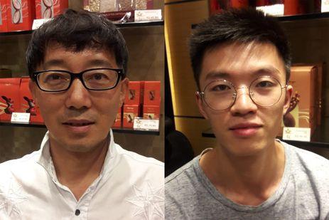 Aventureiro chinês Fan Yu Hu; China