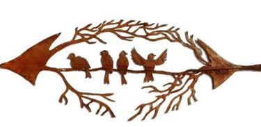 Arte filigrana sobre folhas