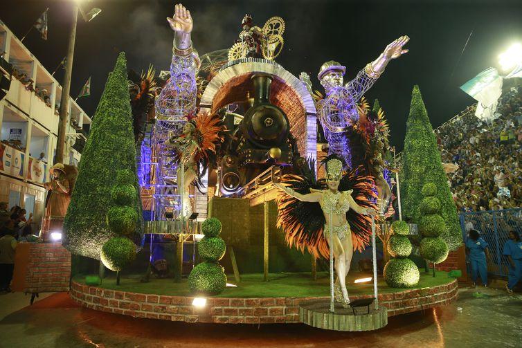 Desfile da Vila Isabel no Carnaval 2019 no Rio de Janeiro