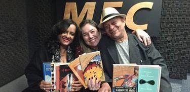 Carmen Moreno e Mano Melo no Conversa com o Autor