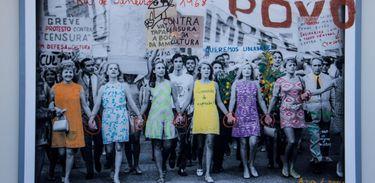A exposição Hiatus: a memória da violência ditatorial na América Latina apresenta obras realizadas a partir do diálogo com o tema da memória