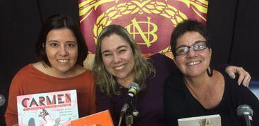 Heloisa Seixas, Katy Navarro e Julia Romeu