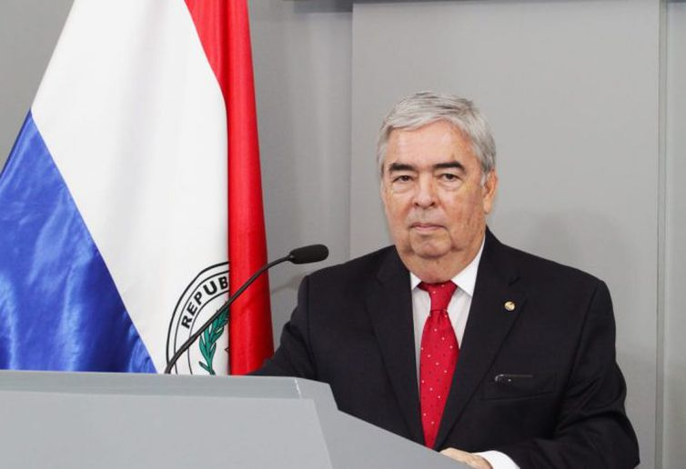 O vice-chanceler do Paraguai, Hugo Saguier