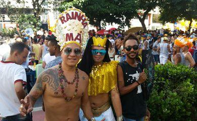 Pós-carnaval  no centro de São Paulo