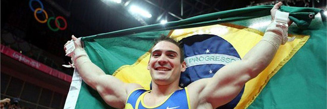Artur Zanetti ganha medalha de ouro inédita nos jogos de Londres