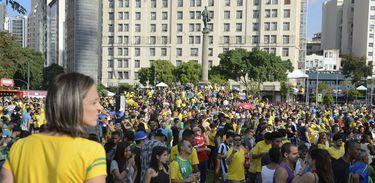Mobilização durante a Copa do Mundo