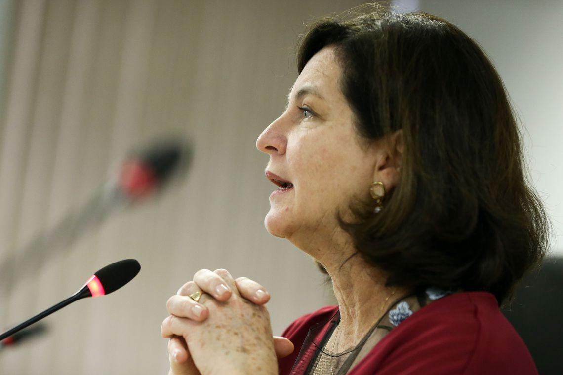 Brasília - A procuradora-geral da República, Raquel Dodge, abre o seminário Impactos da Sentença da Corte Interamericana de Direitos Humanos no Caso Fazenda Brasil Verde (Marcelo Camargo/Agência Brasil)