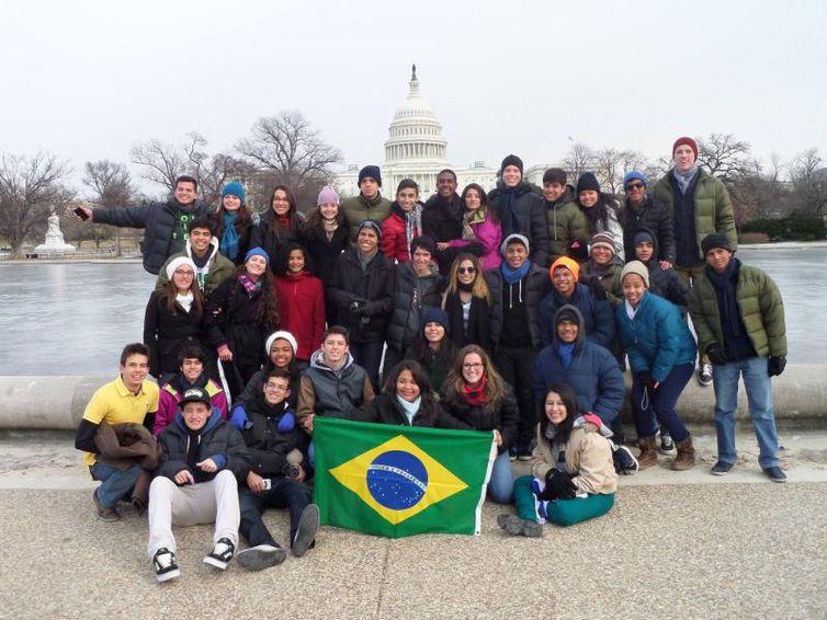 Participantes do programa têm a oportunidade de estudar e conhecer os Estados Unidos