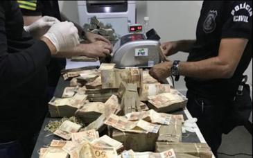 Polícia Civil apreende R$ 1,2 milhão em mala de João de Deus