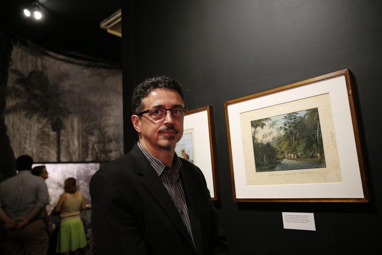 O ministro da Cultura, Sérgio Sá Leitão, abre a exposição 1808 a 1818, A construção do reino do Brasil, na Biblioteca Nacional, dando início às comemorações dos 200 anos da Independência do Brasil.