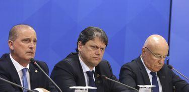 Onyx Lorenzoni, Tarcisio Gomes de Freitas, Salim Mattar