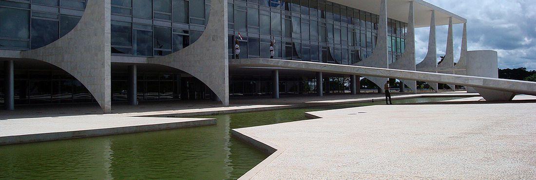 Palácio do Planalto, em Brasília (DF)