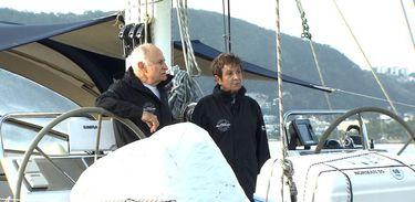 Família Schurmann tem sido testemunha do aumento da poluição marinha