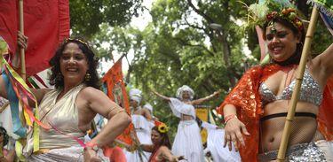 Cordão do Boitatá leva alegria contagiante às ruas do Rio