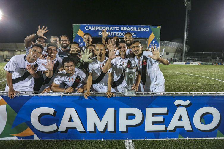 Campeonato Brasileiro de Futebol PC (Futebol de 7) - 31.05.2019 - Final Vasco da Gama X CETEFE - Centro Paralimpico - Foto: Ale Cabral/CPB