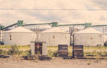 Armazéns de grãos
