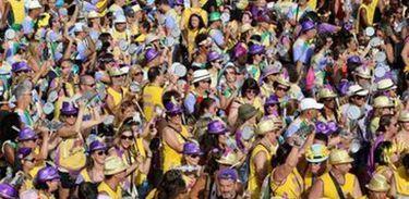 Bloco Simpatia é Quase Amor, do Rio de Janeiro