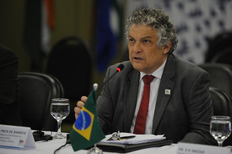 Ricardo Paes de Barros, subsecretário de Ações Estratégicas da SAE/PR, durante reunião de ministros do Brics (Brasil, Rússia, Índia, China e África do Sul), no Palácio Itamaraty (José Cruz/Agência Brasil)