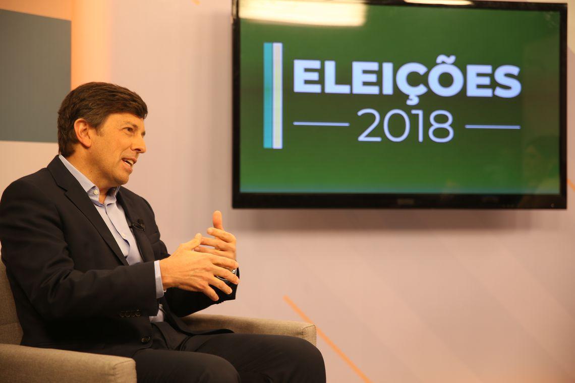 O candidato do Partido Novo, João Amoêdo, é o primeiro da série de entrevistas que a Empresa Brasil de Comunicação (EBC) fará com os candidatos à Presidência da República.