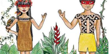 Material didático  combate ao preconceito contra indígenas
