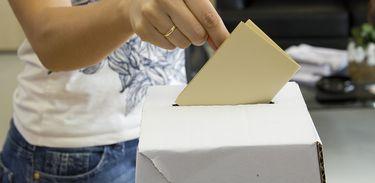 Urna para votação