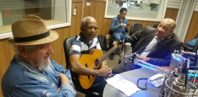 Eugênio Monteiro, Daniel Júnior e Mário Theodoro