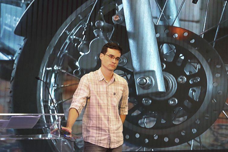 Empresário -  Diogo Lisita Pinto - fundador da Origem Motos