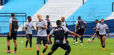 Treino do Atlético-MG na Argentina