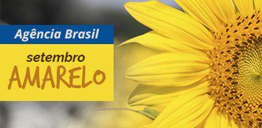 Selo Setembro Amarelo - mês de prevenção ao suicídio