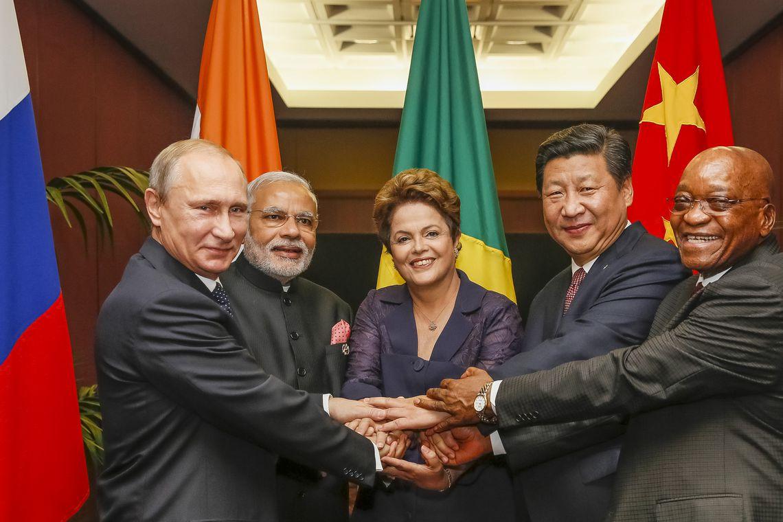 Presidenta Dilma Rousseff durante Fotografia Oficial da Cúpula dos BRICS (Roberto Stuckert Filho/PR)
