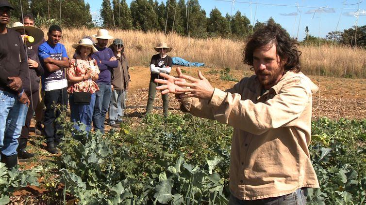 Juã Pereira, professor e discípulo de Ernst Gotsch, sistematizador do termo Agricultura Sintrópica