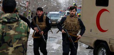 Policiais atuam na instável região de Jawzjan, no Afeganistão