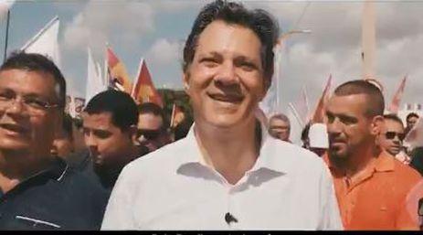 Propaganda política Fernando Haddad