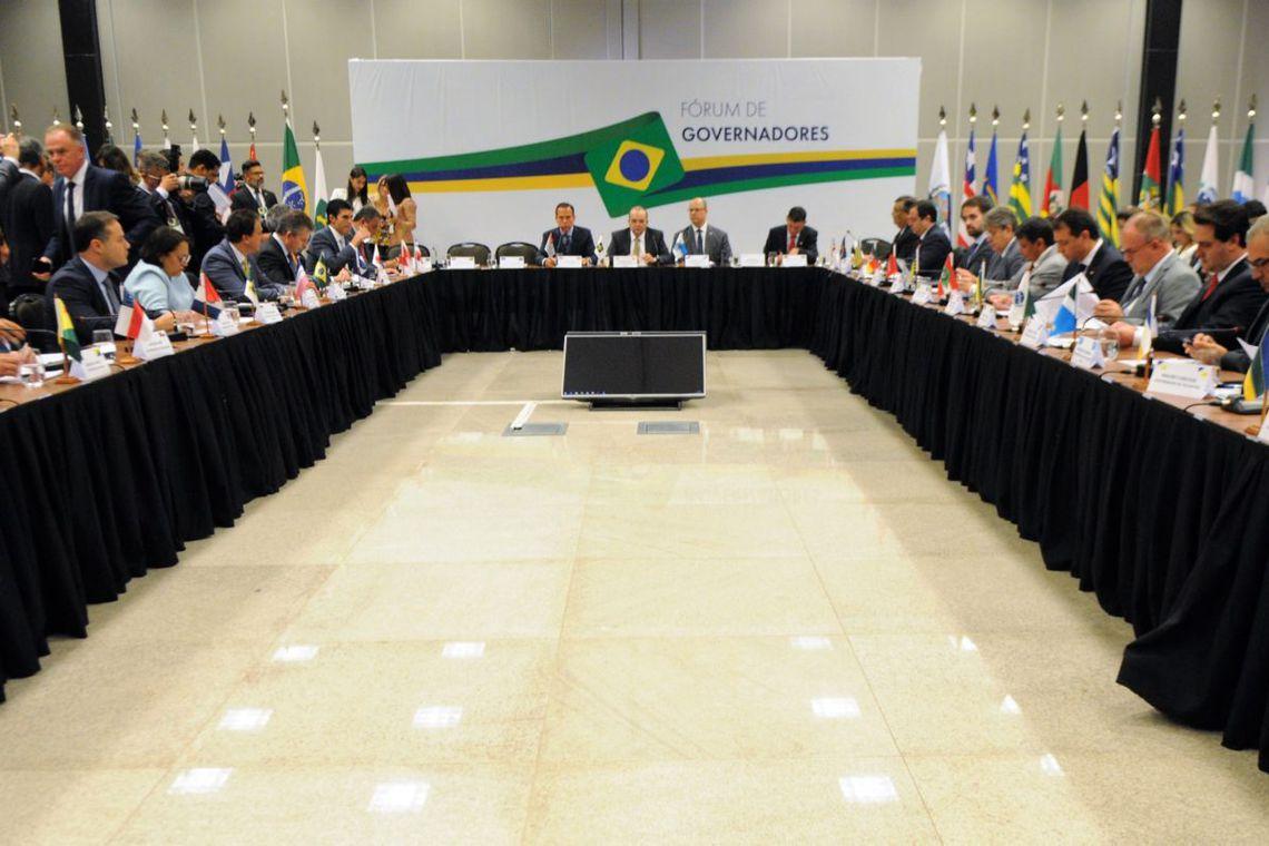 Reunião de governadores, reforma da previdência